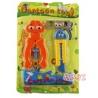 Cartoon Spielwerkzeug Zange und Cuttermesser