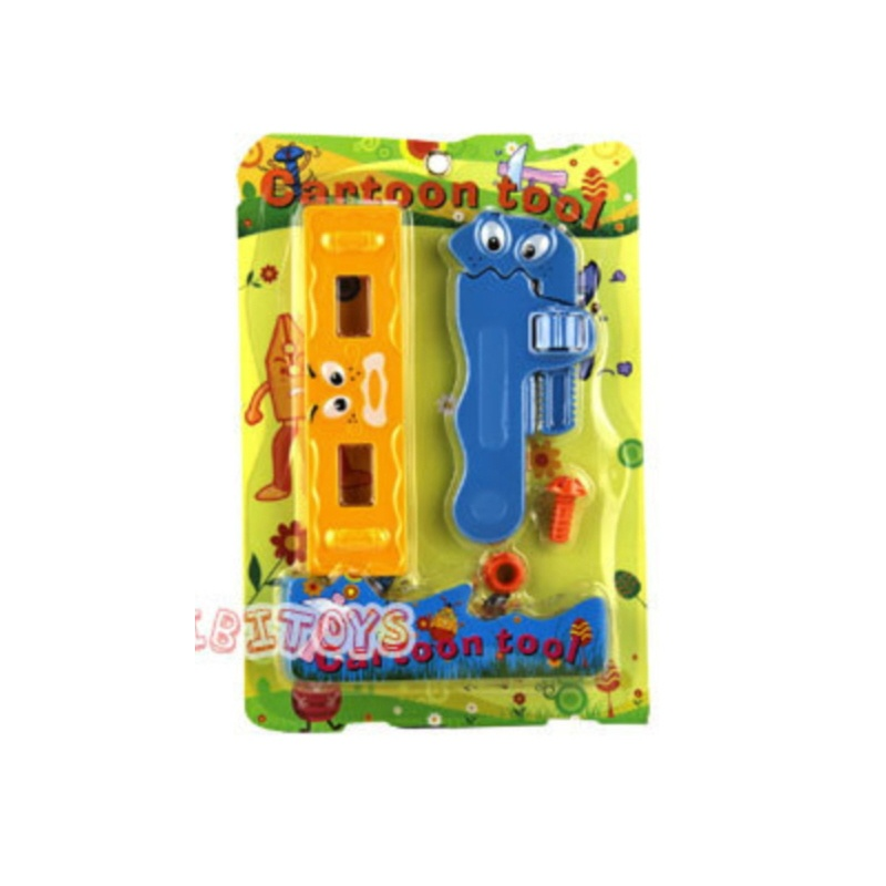 cartoon spielwerkzeug cartoon spielwerkzeug installateur wasserwaage und rohrzange. Black Bedroom Furniture Sets. Home Design Ideas