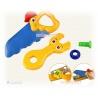 Cartoon Spielwerkzeug Maulschl?ssel und S?ge