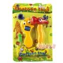 Cartoon Spielwerkzeug Hammer und verstellbarer Schraubenschlüssel