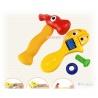 Cartoon Spielwerkzeug Hammer und Schraubenschl?ssel