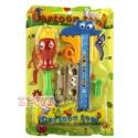 Cartoon Spielwerkzeug Schraubendreher und Messschieber