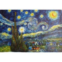 """Van Gogh Öl Gemälde """"Sternennacht"""" handgemalte Replik des Original's"""