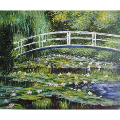 "Claude Monet ?l Gem?lde ""Seerosenteich"" handgemalte Replik des Original's"