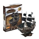 "3D Paper Puzzle - Captain Blackbeard Pirate Ship ""Queen Anne's Revenge"" Pirates of The Karabik - Cubic Fun"