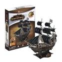 """3D Paper Puzzle - Kapitän Blackbeard Piratenschiff """"Queen Anne's Revenge"""" Piraten der Karabik - Cubic Fun"""