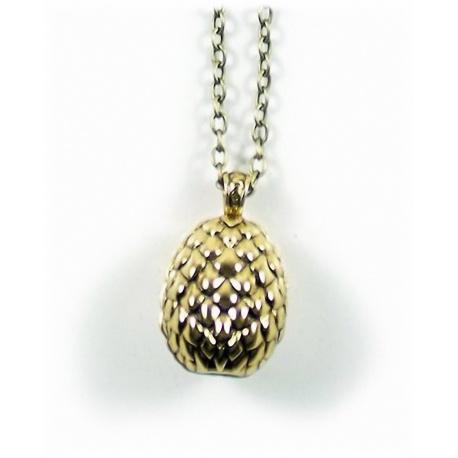 Daenerys's Drachenei Anh?nger - hartvergoldet - Daenerys's Dragons egg - G.o.Thrones Fashion