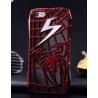 Spider Man Spinnen Blitz Cover - iPhone 5 Schutz-H?lle - Cover Case - Comic Fashion (Schwarz)