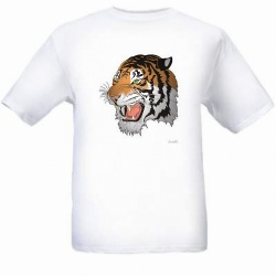 Tiger 3D DEELUXE T-Shirt - AndreSi Design