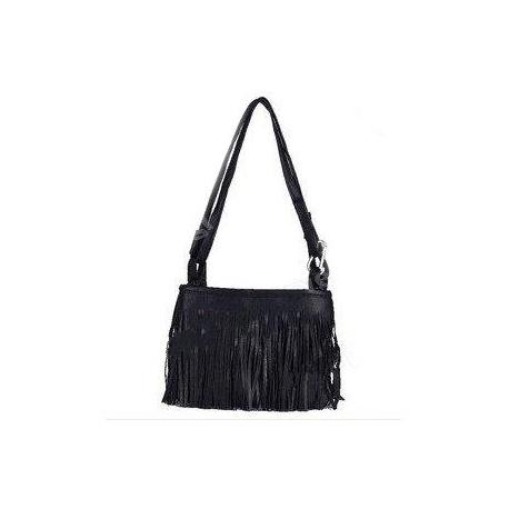 Fringe Tassel Shoulder Messenger Bag Hand Style Women lady Satchel