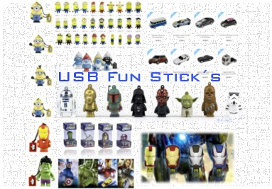 USB Fun Sticks